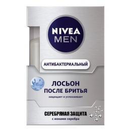 """Nivea лосьон после бритья """"Серебряная защита"""", 100 мл"""