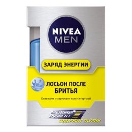 """Nivea лосьон после бритья """"Заряд энергии"""", 100 мл"""