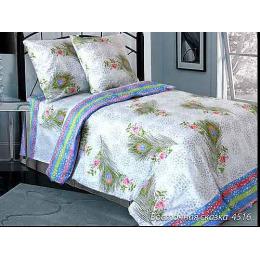 """Блаkiт комплект постельного белья """"Восточная сказка"""" 1,5 спальное, наволочки 50х70 см"""