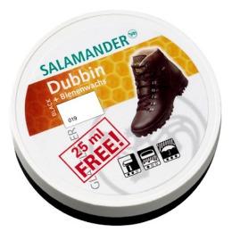 """Salamander крем-воск """"Dubbin"""" в банке, тон черный, 100 мл"""