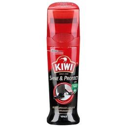"""Kiwi крем-блеск жидкий """"Colour shine"""" для обуви тон черный, 50 мл"""