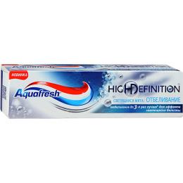 "Aquafresh зубная паста ""Светящаяся мята"", 75 мл"