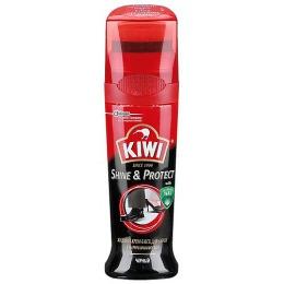 Kiwi крем-блеск для обуви, тон черный, 75 мл