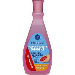 """Фитокосметик жидкость для снятия лака """"Увлажняющий эффект"""" с витамином Е и маслом абрикоса без ацетона"""
