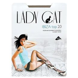 "Lady Cat колготки женские ""ibiza top 20"" загар"