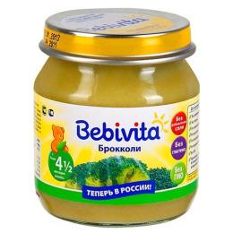 """Bebivita пюре """"Брокколи"""", 100 г"""