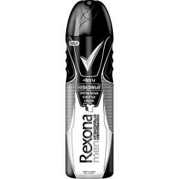 """Rexona антиперспирант аэрозоль """"Невидимый на черном и белом"""", 150 мл"""
