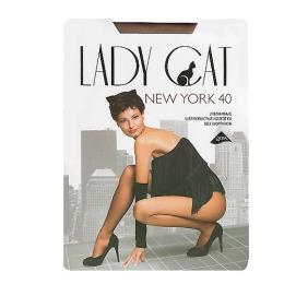 "Lady Cat колготки женские ""New York 40"" загар"