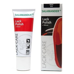 """Salamander крем """"Lack Polish"""" для ухода, защиты и чистки лаковой кожи, тон черный, 75 мл"""