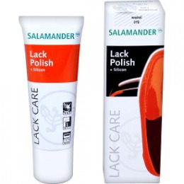 """Salamander крем """"Lack polish"""" для ухода, защиты и чистки лаковой кожи, тон бесцветный, 75 мл"""