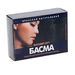 """Фитокосметик средство для окраски волос """"Басма. Иранская натуральная"""" высший сорт"""
