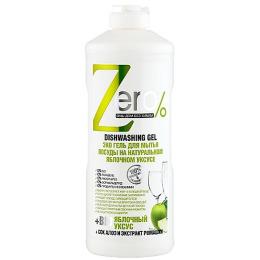 """Zero эко гель """"На натуральном яблочном уксусе"""" для мытья посуды, 500 мл"""