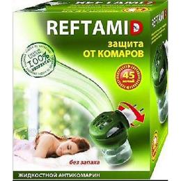 """Рефтамид жидкостной комплект """"45 ночей без запаха"""" от комаров"""