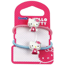 "Hello Kitty резинка ""Sweet Summer"" Розовая/голубая"