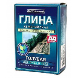 """Фитокосметик глина сухая """"Кембрийская"""" голубая"""