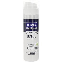 Nivea гель для бритья для чувствительной кожи, 200 мл