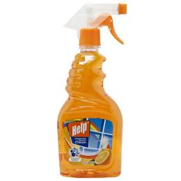"""Help средство для мытья стекол """"Апельсин"""" с курком"""