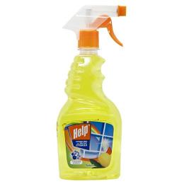 """Help средство для мытья стекол """"Лимон"""" с курком"""