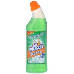 """Мистер Мускул чистящее средство гель с микро-гранулами """"Супер Сила. Свежесть утра"""""""