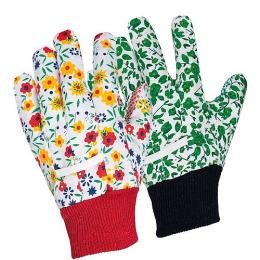 Хозяюшка Мила перчатки для садовых работ х/б с манжетой