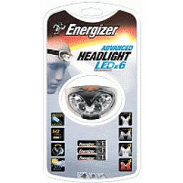 Energizer фонарь налобный 3 Led Headlight без батареи 1шт