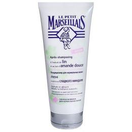 "Le Petit Marseillais Кондиционер для волос ""Лен и молочко сладкого миндаля"", 200 мл"