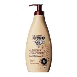 """Le Petit Marseillais питательное молочко для тела """"Карите, алое и пчелиный воск"""" для очень сухой и поврежденной кожи"""