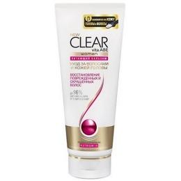 """Clear бальзам-ополаскиватель """"Восстановление поврежденных и окрашенных волос"""" для женщин, 180 мл"""