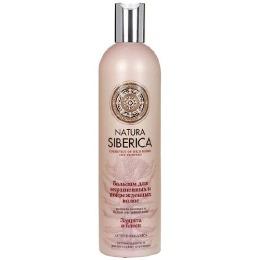 """Natura Siberica бальзам для волос """"Защита и блеск"""" для окрашенных и поврежденных волос, 400 мл"""
