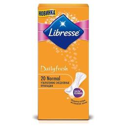 "Libresse прокладки ежедневные ""Dailyfresh Normal"""