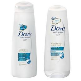 """Dove шампунь для волос """"Легкость и увлажнение"""" 250 мл + бальзам-ополаскиватель """"Легкость и увлажнение"""" 200 мл"""