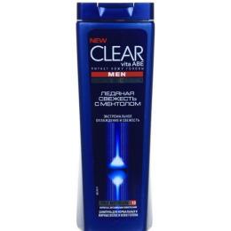"""Clear шампунь для волос против перхоти """"Ледяная свежесть"""" с ментолом для мужчин"""