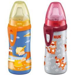 """Nuk бутылочка-поильник """"Active cup"""" с силиконовой насадкой"""