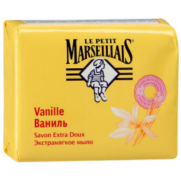 "Le Petit Marseillais мыло ""Ваниль"" экстрамягкое, 90 г"