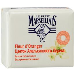 """Le Petit Marseillais мыло """"Цветок апельсинового дерева"""" экстрамягкое, 90 г"""
