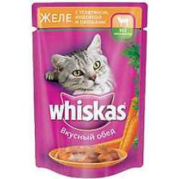 "Whiskas корм в желе ""Индейка и овощи"""
