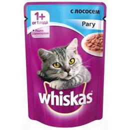 "Whiskas корм ""Рагу. Лосось"""