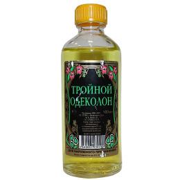 """Новая заря одеколон """"Тройной"""" без футляра"""
