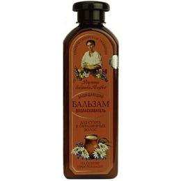 """Рецепты бабушки Агафьи бальзам """"Защищающий"""" для сухих окрашенных волос, 350 мл"""