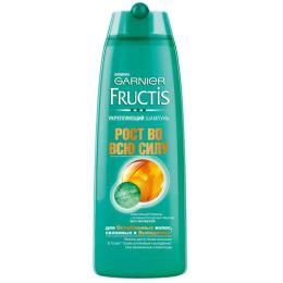 """Garnier шампунь """"Fructis. Рост Во Всю Силу"""" укрепляющий для ослабленных волос склонных к выпадению"""