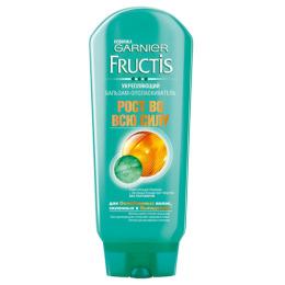 """Garnier бальзам """"Fructis. Рост Во Всю Силу"""" укрепляющий для ослабленных волос склонных к выпадению, 200 мл"""