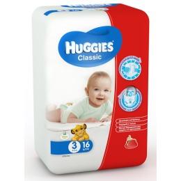 "Huggies подгузники ""Classic"" размер 3, 4-9 кг"
