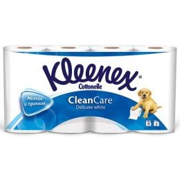 """Kleenex туалетная бумага """"Delicate White"""" двухслойная"""