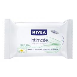 """Nivea салфетки """"Intimo Natural """"Деликатный уход"""" для интимной гигиены, 20 шт"""