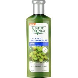 """Naturvital шампунь """"Sensitive"""" против перхоти, с экстрактом хмеля, 300 мл"""