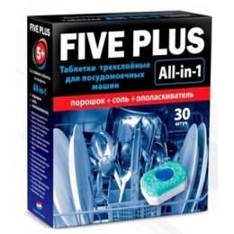 """5+ таблетки для посудомоечных машин """"Five Plus"""""""