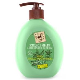 """Бабушкина Аптека мыло для интимной гигиены """"Череда и масло чайного деоева"""""""