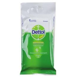 Dettol антибактериальные салфетки для рук