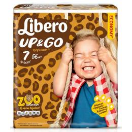 """Libero подгузники-трусики """"Up&Go"""" 16-26 кг"""