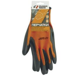 Clean Race перчатки с нитриловым покрытием, 1 пара